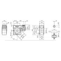 Мотор-редуктор DRV 063/130