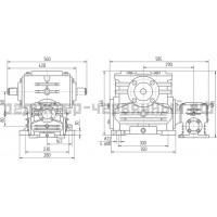 Редуктор 1Ч2 160-80
