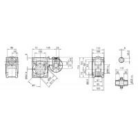 Мотор-редуктор DRV 030/063