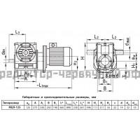 Мотор-редуктор МЦЧ-125