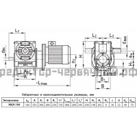 Мотор-редуктор МЦЧ-160