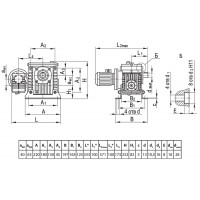 Мотор-редуктор МЧ2-40/63