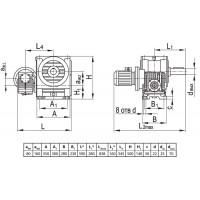 Мотор-редуктор МЧ2-80/160