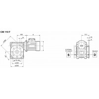 Мотор-редуктор CM-110