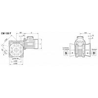 Мотор-редуктор CMP-080/130