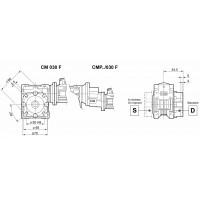 Мотор-редуктор CM-030