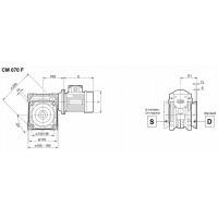 Мотор-редуктор CM-70