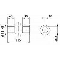 Мотор-редуктор CMP-071/090