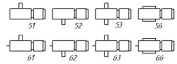 Вариант сборки мотор-редукторов 9МЧ