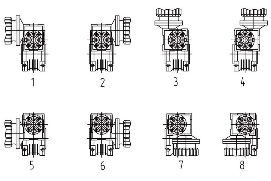 Варианты расположения первой ступени 9МЧ2
