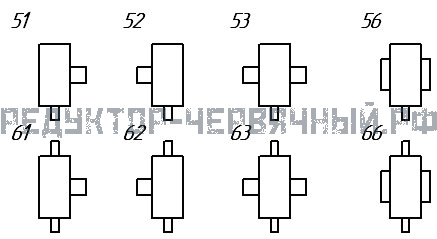 Вариант сборки редуктора 1Ч 160