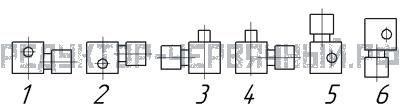 Расположение электродвигателя на мотор-редукторе МЧ 125