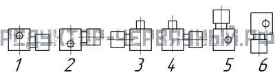 Вариант расположение электродвигателя мотор-редуктора МЧ 160