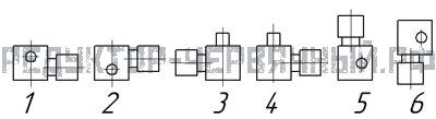 Схема нахождения двигателя на МЧ 80
